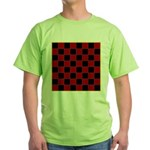 Checkerboard Green T-Shirt