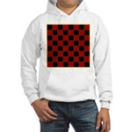 Checkerboard Hooded Sweatshirt