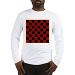 Checkerboard Long Sleeve T-Shirt