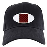 Checkerboard Black Cap