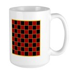 Checkerboard Large Mug