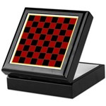 Checkerboard Keepsake Box