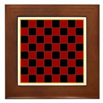 Checkerboard Framed Tile