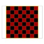 Checkerboard Small Poster