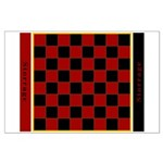 Checkerboard Large Poster