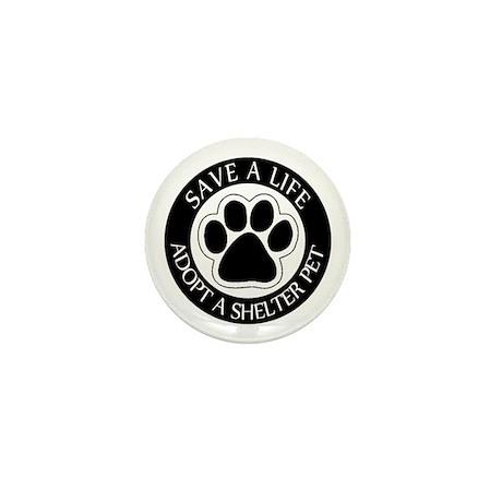 Adopt a Shelter Pet Mini Button (10 pack)