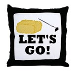 Hey! Ho! Let's Go! Throw Pillow