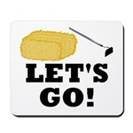 Hey! Ho! Let's Go! Mousepad