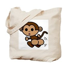 Monkey Shake Tote Bag