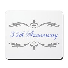 35th Wedding Anniversary Mousepad