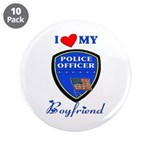 Police Boyfriend 3.5&quot; Button (10 pack)