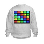 Learn Chinese Numbers Kids Sweatshirt