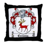 Cremin Coat of Arms Throw Pillow