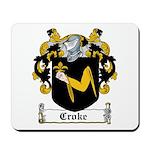 Croke Coat of Arms Mousepad