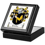 Croke Coat of Arms Keepsake Box