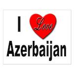 I Love Azerbaijan Small Poster