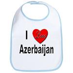 I Love Azerbaijan Bib