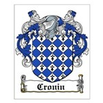 Cronin Coat of Arms Small Poster