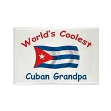 Coolest Cuban Grandpa Rectangle Magnet