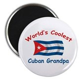 "Coolest Cuban Grandpa 2.25"" Magnet (10 pack)"
