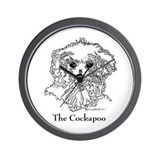 The Cockapoo Wall Clock