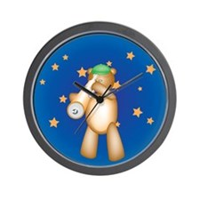 Belinda Teddy Wall Clock