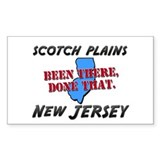 scotch plains new jersey - been there, done that S