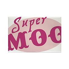 Super Moo Rectangle Magnet