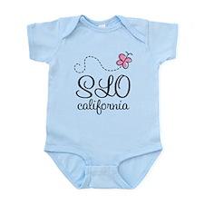 Pretty SLO California Infant Bodysuit