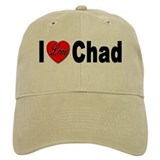 I Love Chad Baseball Cap