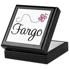 Pretty Fargo North Dakota Keepsake Box