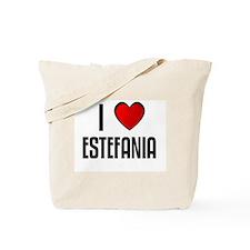 I LOVE ESTEFANIA Tote Bag