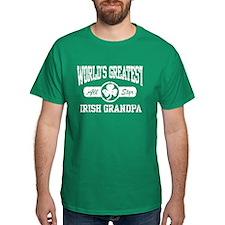 World's Greatest Irish Grandpa T-Shirt