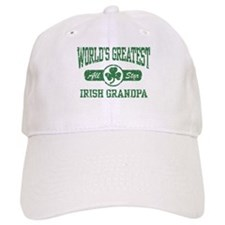 World's Greatest Irish Grandpa Baseball Cap