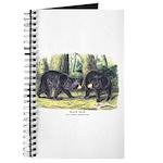 Audubon Black Bear Animal Journal
