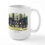 Audubon Black Bear Animal Large Mug