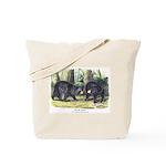 Audubon Black Bear Animal Tote Bag