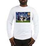 Starry / 2 Bearded Collies Long Sleeve T-Shirt