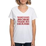 Shirt > House Women's V-Neck T-Shirt