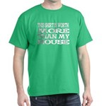 Shirt > House Green/White T-Shirt