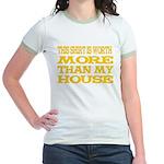 Shirt > House Mint/Gold Jr. Ringer T-Shirt