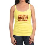 Shirt > House Jr. Lemon/Red Spaghetti Tank