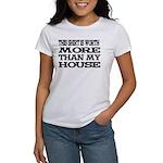 Shirt > House White/Black Women's T-Shirt
