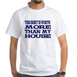 Shirt > House White/Blue T-Shirt
