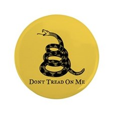"Don't Tread On Me 3.5"" Button"