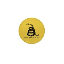 Don't Tread On Me Mini Button (10 pack)