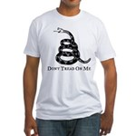 Don't Tread On Me Fitted T-Shirt