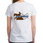 Reinaholic in brown Women's T-Shirt
