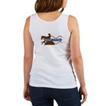 Reinaholic in brown Women's Tank Top