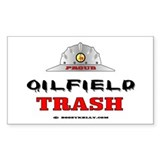 Oilfield Trash Rectangle Sticker 50 pk),Oil,Gas